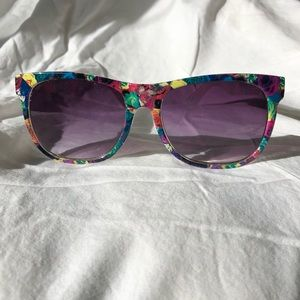 Olsenboye Floral Wayfarer Sunglasses